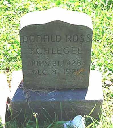 SCHLEGEL, DONALD ROSS - Juniata County, Pennsylvania | DONALD ROSS SCHLEGEL - Pennsylvania Gravestone Photos