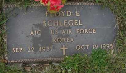 SCHLEGEL, FLOYD E. - Juniata County, Pennsylvania | FLOYD E. SCHLEGEL - Pennsylvania Gravestone Photos