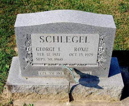 SCHLEGEL, GEORGE L. - Juniata County, Pennsylvania   GEORGE L. SCHLEGEL - Pennsylvania Gravestone Photos
