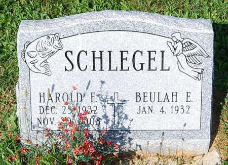 SCHLEGEL, HAROLD E. - Juniata County, Pennsylvania   HAROLD E. SCHLEGEL - Pennsylvania Gravestone Photos