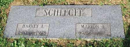 SCHLEGEL, HARVEY L. - Juniata County, Pennsylvania | HARVEY L. SCHLEGEL - Pennsylvania Gravestone Photos