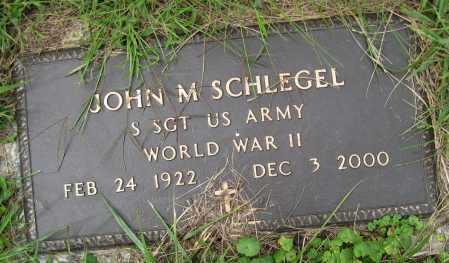 SCHLEGEL, JOHN M. - Juniata County, Pennsylvania | JOHN M. SCHLEGEL - Pennsylvania Gravestone Photos