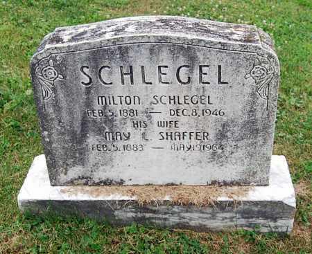 SCHLEGEL, MILTON - Juniata County, Pennsylvania   MILTON SCHLEGEL - Pennsylvania Gravestone Photos