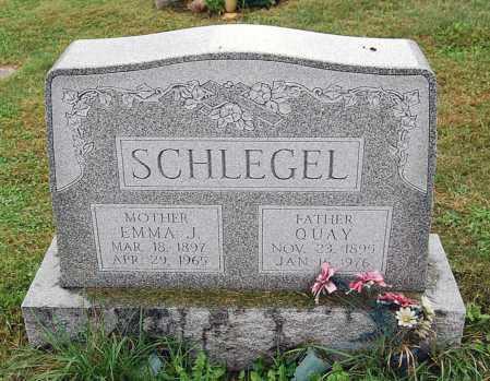 SCHLEGEL, EMMA J. - Juniata County, Pennsylvania | EMMA J. SCHLEGEL - Pennsylvania Gravestone Photos