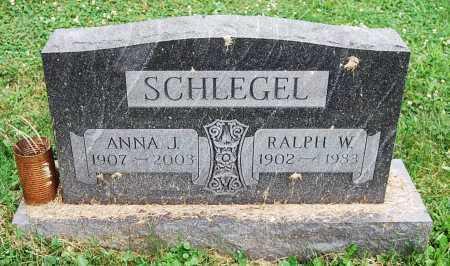 SCHLEGEL, ANNA J. - Juniata County, Pennsylvania | ANNA J. SCHLEGEL - Pennsylvania Gravestone Photos