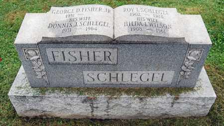 SCHLEGEL, HILDA I. - Juniata County, Pennsylvania | HILDA I. SCHLEGEL - Pennsylvania Gravestone Photos