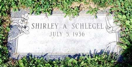 SCHLEGEL, SHIRLEY A. - Juniata County, Pennsylvania | SHIRLEY A. SCHLEGEL - Pennsylvania Gravestone Photos