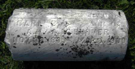SHOVER, CARL B. - Juniata County, Pennsylvania | CARL B. SHOVER - Pennsylvania Gravestone Photos