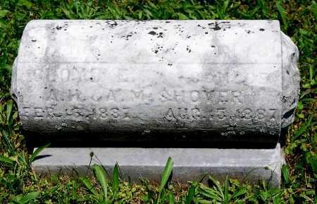 SHOVER, CLOYD E. - Juniata County, Pennsylvania | CLOYD E. SHOVER - Pennsylvania Gravestone Photos