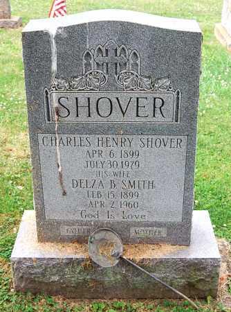 SHOVER, CHARLES HENRY - Juniata County, Pennsylvania | CHARLES HENRY SHOVER - Pennsylvania Gravestone Photos