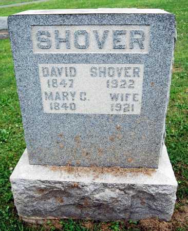 SHOVER, MARY C. - Juniata County, Pennsylvania | MARY C. SHOVER - Pennsylvania Gravestone Photos