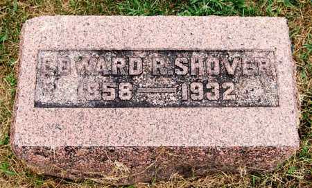 SHOVER, EDWARD R. - Juniata County, Pennsylvania   EDWARD R. SHOVER - Pennsylvania Gravestone Photos