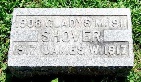 SHOVER, JAMES W. - Juniata County, Pennsylvania | JAMES W. SHOVER - Pennsylvania Gravestone Photos
