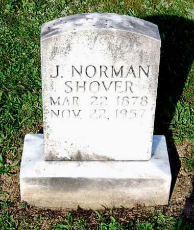 SHOVER, J. NORMAN - Juniata County, Pennsylvania | J. NORMAN SHOVER - Pennsylvania Gravestone Photos