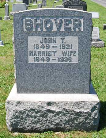 SHOVER, HARRIET - Juniata County, Pennsylvania | HARRIET SHOVER - Pennsylvania Gravestone Photos