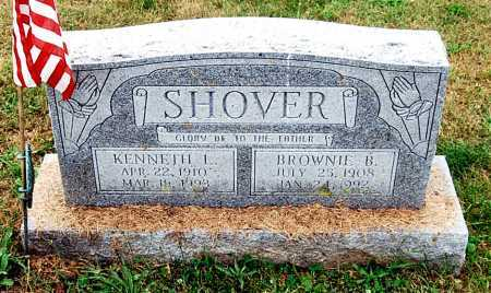 SHOVER, KENNETH LLOYD - Juniata County, Pennsylvania | KENNETH LLOYD SHOVER - Pennsylvania Gravestone Photos