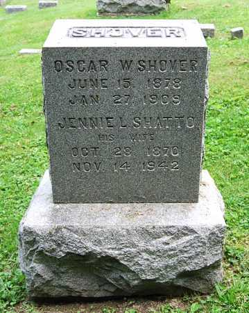 SHOVER, JENNIE L. - Juniata County, Pennsylvania | JENNIE L. SHOVER - Pennsylvania Gravestone Photos