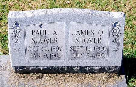SHOVER, PAUL A. - Juniata County, Pennsylvania | PAUL A. SHOVER - Pennsylvania Gravestone Photos