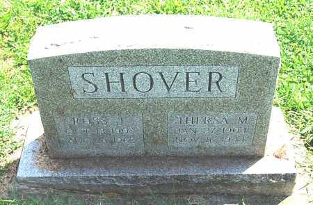 SHOVER, THERESA M. - Juniata County, Pennsylvania   THERESA M. SHOVER - Pennsylvania Gravestone Photos