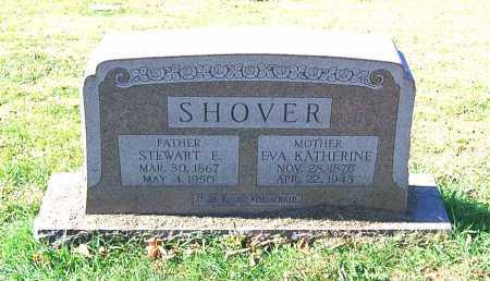 SHOVER, EVA KATHERINE - Juniata County, Pennsylvania | EVA KATHERINE SHOVER - Pennsylvania Gravestone Photos