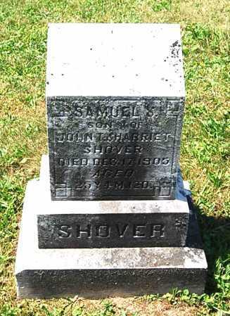 SHOVER, SAMUEL S. - Juniata County, Pennsylvania   SAMUEL S. SHOVER - Pennsylvania Gravestone Photos