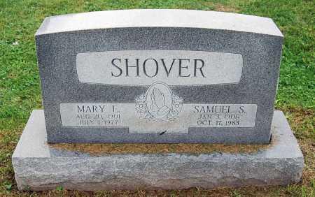 SHOVER, MARY L. - Juniata County, Pennsylvania | MARY L. SHOVER - Pennsylvania Gravestone Photos