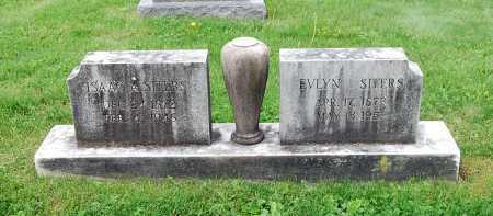 SITERS, EVLYN - Juniata County, Pennsylvania | EVLYN SITERS - Pennsylvania Gravestone Photos