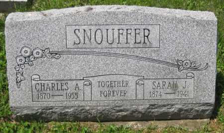 SNOUFFER, SARAH J. - Juniata County, Pennsylvania | SARAH J. SNOUFFER - Pennsylvania Gravestone Photos