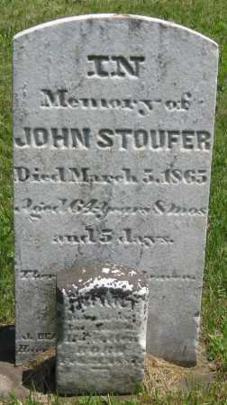 STOUFER, JOHN - Juniata County, Pennsylvania | JOHN STOUFER - Pennsylvania Gravestone Photos