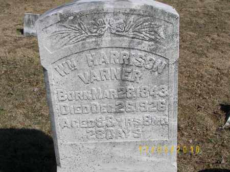 VARNER, WM HARRISON - Juniata County, Pennsylvania | WM HARRISON VARNER - Pennsylvania Gravestone Photos