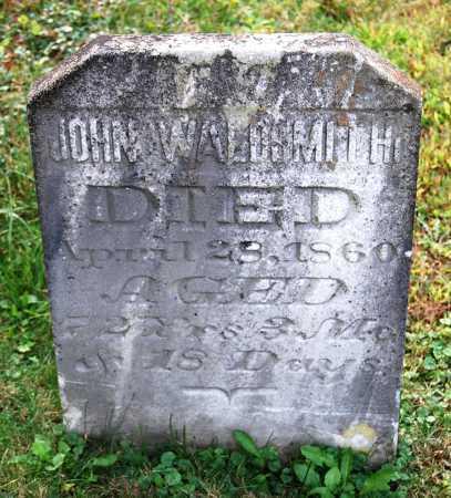 WALDSMITH, JOHN - Juniata County, Pennsylvania | JOHN WALDSMITH - Pennsylvania Gravestone Photos