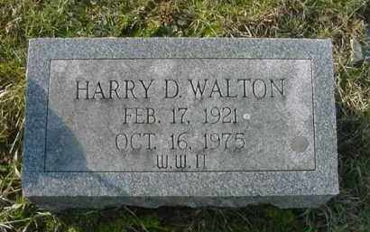 WALTON, HARRY D. - Juniata County, Pennsylvania | HARRY D. WALTON - Pennsylvania Gravestone Photos