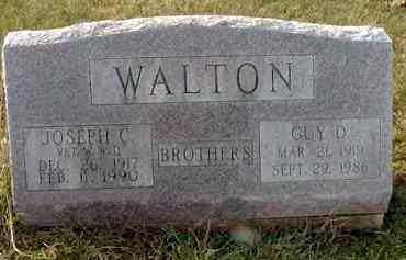 WALTON, GUY D. - Juniata County, Pennsylvania | GUY D. WALTON - Pennsylvania Gravestone Photos