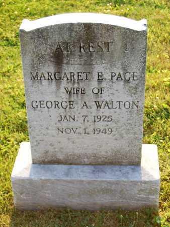WALTON, MARGARET E. - Juniata County, Pennsylvania   MARGARET E. WALTON - Pennsylvania Gravestone Photos