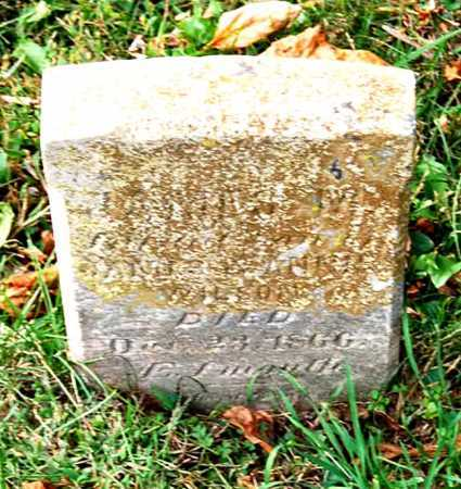 WILSON, (UNKNOWN) - Juniata County, Pennsylvania | (UNKNOWN) WILSON - Pennsylvania Gravestone Photos