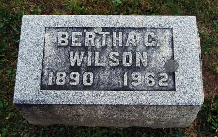 WILSON, BERTHA G. - Juniata County, Pennsylvania | BERTHA G. WILSON - Pennsylvania Gravestone Photos