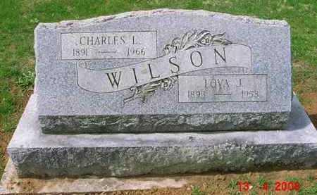 WILSON, LOYA J. - Juniata County, Pennsylvania | LOYA J. WILSON - Pennsylvania Gravestone Photos