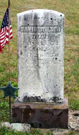 WILSON, DAVID - Juniata County, Pennsylvania   DAVID WILSON - Pennsylvania Gravestone Photos