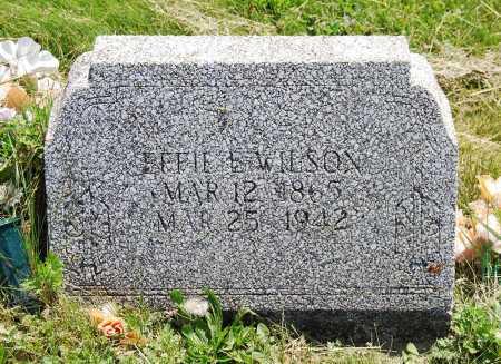 WILSON, EFFIE - Juniata County, Pennsylvania | EFFIE WILSON - Pennsylvania Gravestone Photos