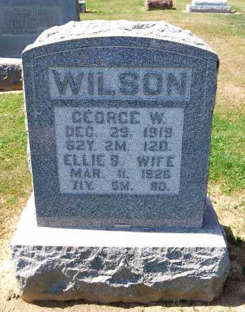 WILSON, GEORGE W. - Juniata County, Pennsylvania | GEORGE W. WILSON - Pennsylvania Gravestone Photos