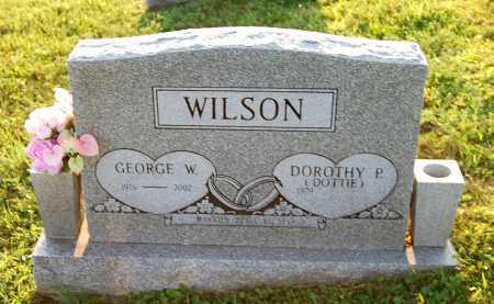 WILSON, GEORGE W. - Juniata County, Pennsylvania   GEORGE W. WILSON - Pennsylvania Gravestone Photos