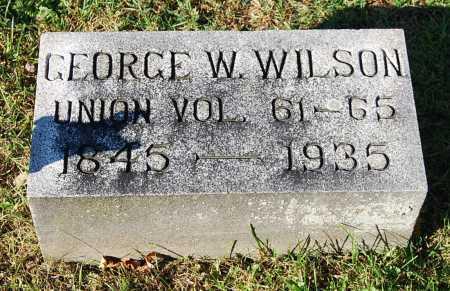 WILSON, GEORGE W. - Juniata County, Pennsylvania | GEORGE W. WILSON - Pennsylvania Gravestone Photos