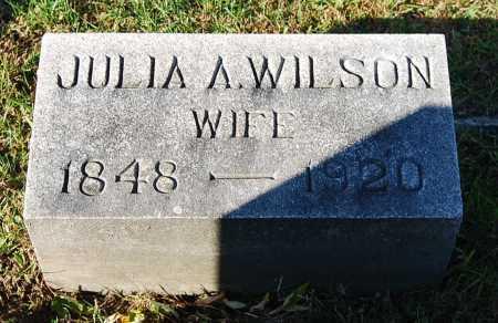 WILSON, JULIA A. - Juniata County, Pennsylvania | JULIA A. WILSON - Pennsylvania Gravestone Photos