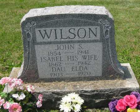 WILSON, ISABEL - Juniata County, Pennsylvania | ISABEL WILSON - Pennsylvania Gravestone Photos