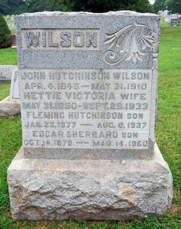 WILSON, JOHN HUTCHINSON - Juniata County, Pennsylvania | JOHN HUTCHINSON WILSON - Pennsylvania Gravestone Photos