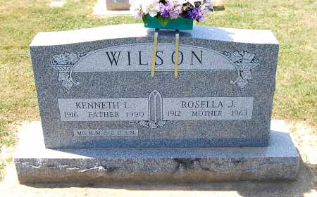 WILSON, ROSELLA J. - Juniata County, Pennsylvania | ROSELLA J. WILSON - Pennsylvania Gravestone Photos
