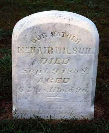 WILSON, MCNAIR - Juniata County, Pennsylvania | MCNAIR WILSON - Pennsylvania Gravestone Photos