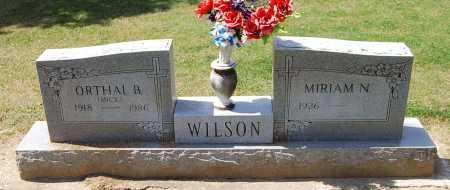 WILSON, ORTHAL BROOKS - Juniata County, Pennsylvania | ORTHAL BROOKS WILSON - Pennsylvania Gravestone Photos