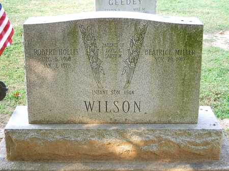 "MILLER WILSON, BEATRICE ""BEATTY"" - Juniata County, Pennsylvania 