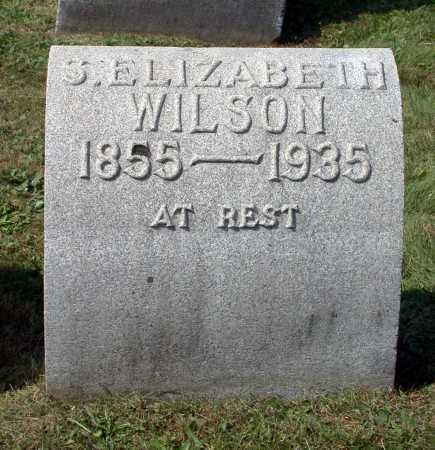 WILSON, S. ELIZABETH - Juniata County, Pennsylvania | S. ELIZABETH WILSON - Pennsylvania Gravestone Photos